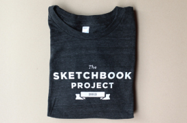 Sketchbook Project T-Shirt